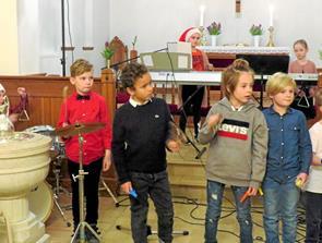 Julekoncert i Løkken med musikskoleelever