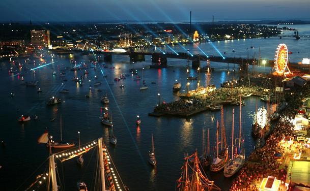 Stor fest i vente: De optræder til Tall Ships Races