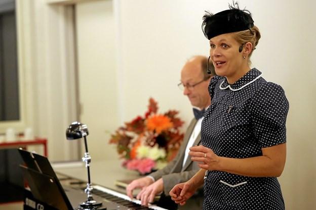 Duoen Toner af Guld leverede det musikalske repertoire. Foto: Allan Mortensen