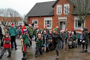Så startede julen i Vestervig