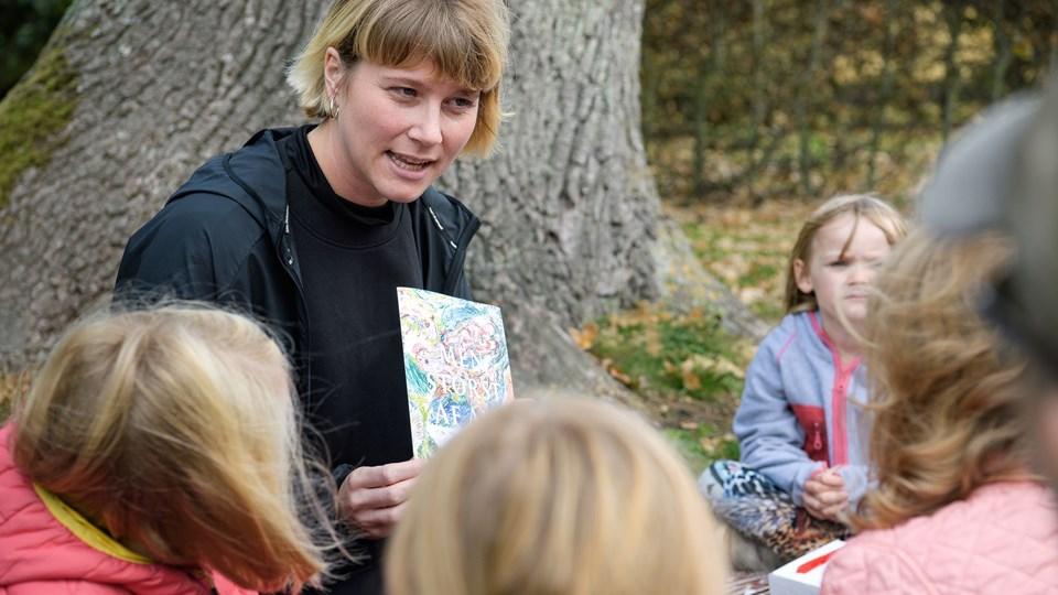 Emilia Nykjær Isaksson er kunstformidler for SMK Thy