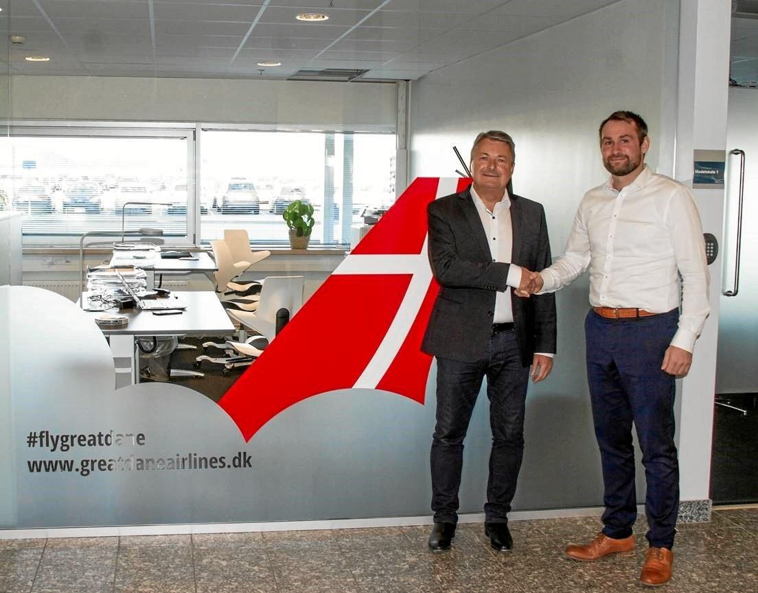 Kendt nordjysk forretningsmand investerer i Great Dane Airlines