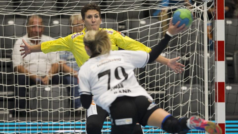 Super Cup i Vejle Spektrum 6. september 2016 Team Esbjerg - FCM Håndbold Foto: Scanpix/Frank Cilius