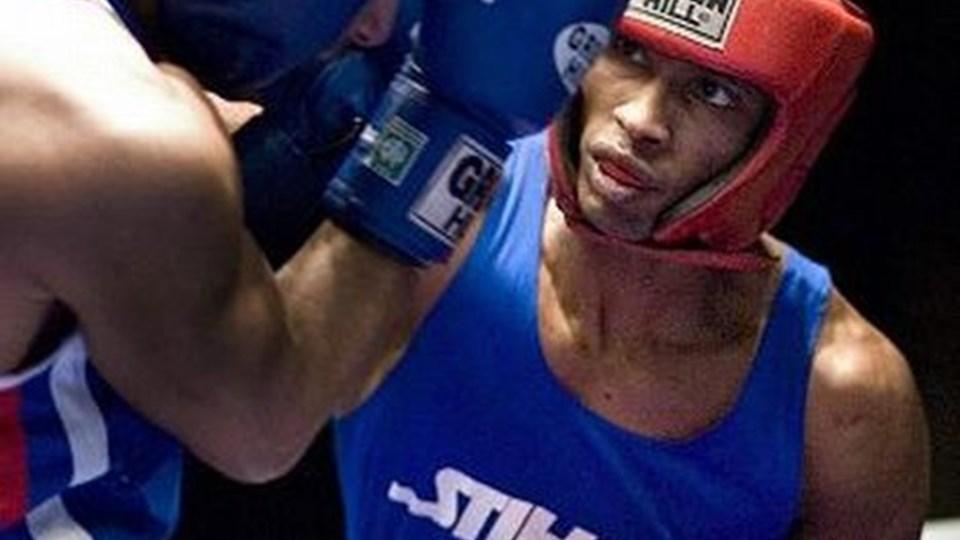 IK Spartas Hussein Hassen (t.h.) besejrede Purja Hadari fra Brabrand i JM-finalen. Foto: Scanpix