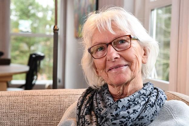 74-årige Aase indlagt på gangen på sygehuset i Hjørring: Græd, da hun vågnede