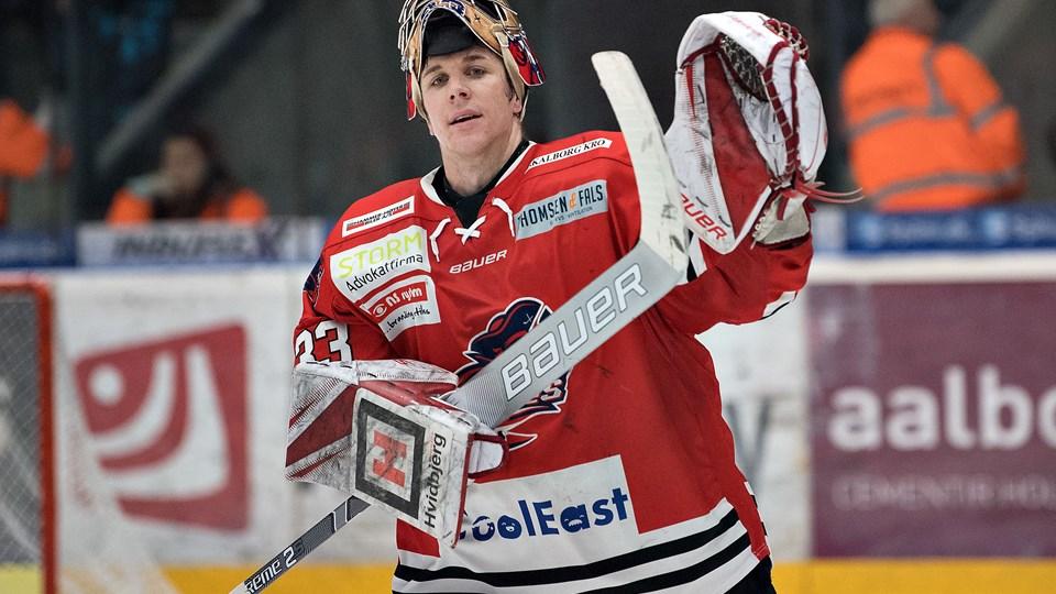 Ronan Quemener er i gang med sin anden sæson i Aalborg Pirates. Foto: Hans Ravn