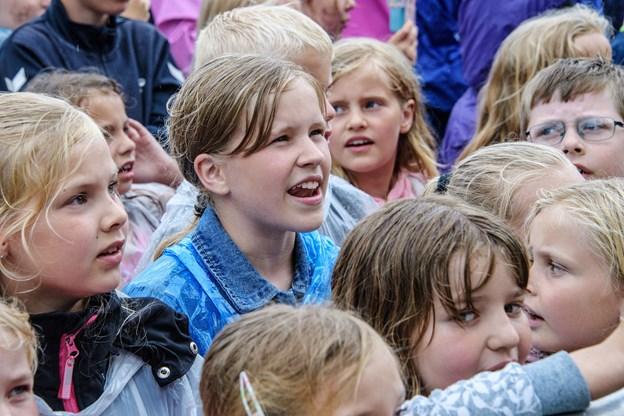 Koncert på Knivholt med Rasmus Seebach.  Foto: Peter Broen
