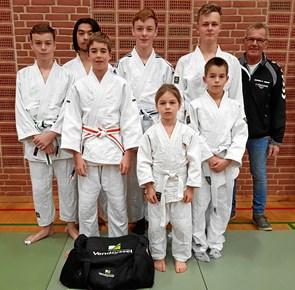 Guld og sølv til judodebutanter