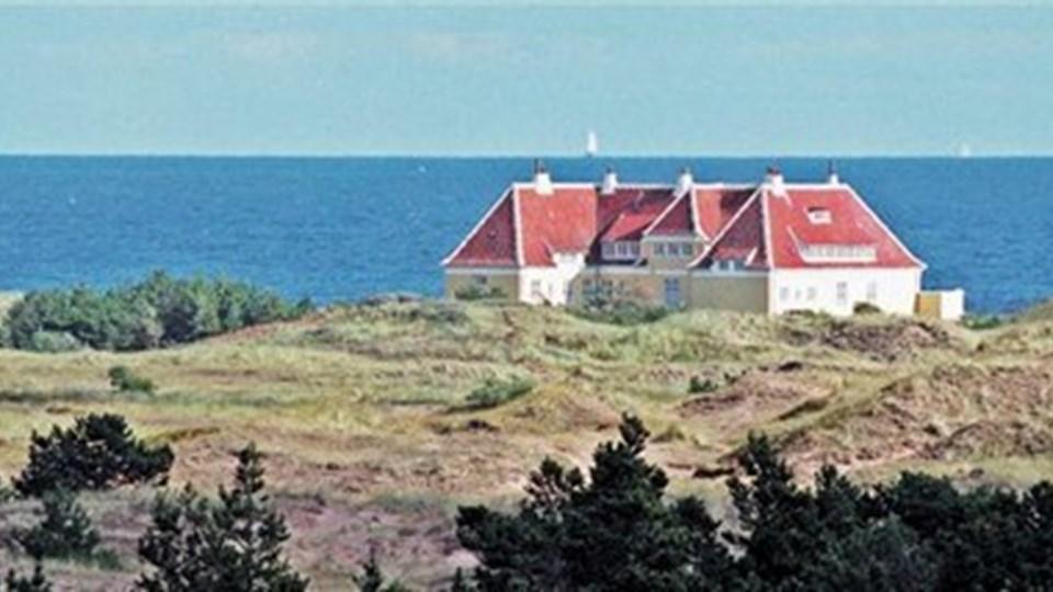 Bebyggelsen ved Damstedvej er af ældre dato, men beliggenheden, tæt på Klitgården og Damstederne, er i top. Foto: Peter Broen