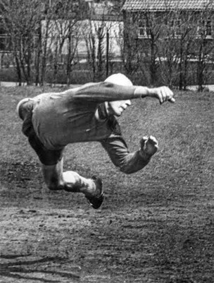 Jørgen Pyndt: Kærlighed til ord - og til fodbold