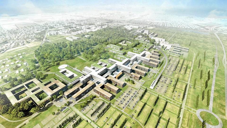 De store bygge- og anlægsprojekter, der er planlagt i Nordjylland, vil forstærke mangelen på bygningshåndværkere med flere tusinde. Beskæftigelsesrådet opfordrer unge til at tage uddannelse i byggeriet. Arkivfoto