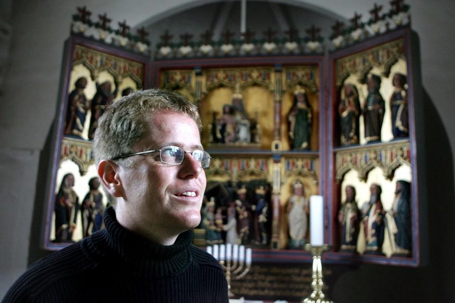 Foredrag i sognegården i Tornby