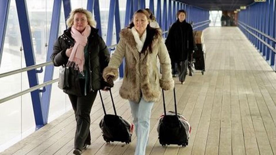 Den svenske krones værdi er skyld i færre turister i Valutaslangen. Arkivfoto: Carl Th. Poulsen