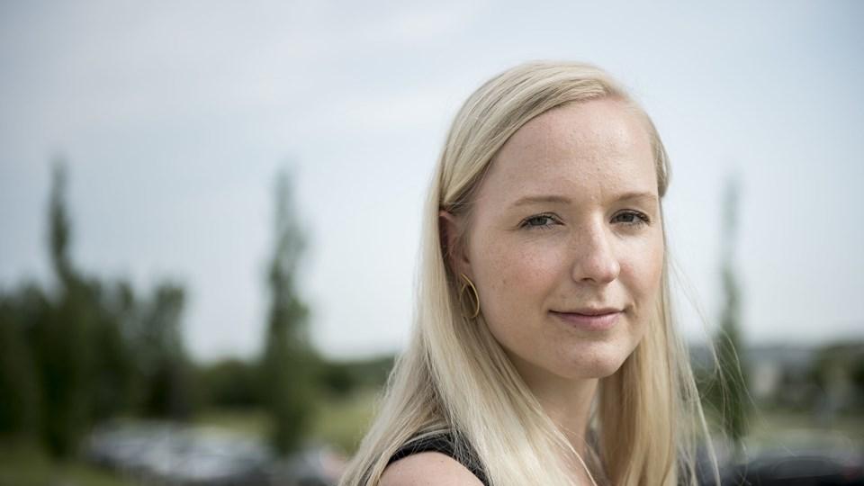 Til september begynder Cecilie Vangsted på en kandidatuddannelse i dansk med kommunikation som tilvalg. Et godt kompromis, men ikke hvad hun havde planlagt.Foto: Nicolas Che Meier