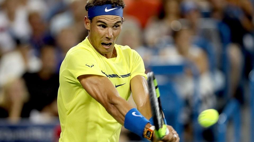 Tennisstjernen Rafael Nadal har ikke været i aktion siden Australian Open i januar. Foto: Scanpix/Matthew Stockman/arkiv