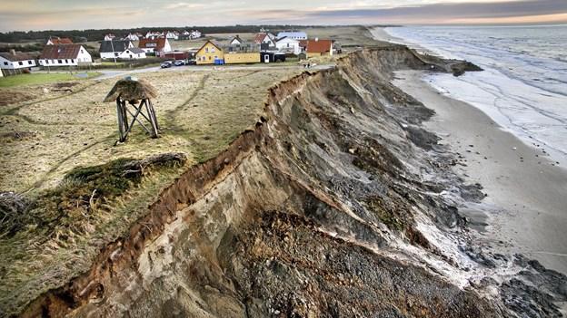 Kystsikring er ikke komplet: Hul på 65 meter mellem to projekter giver risiko for erosion