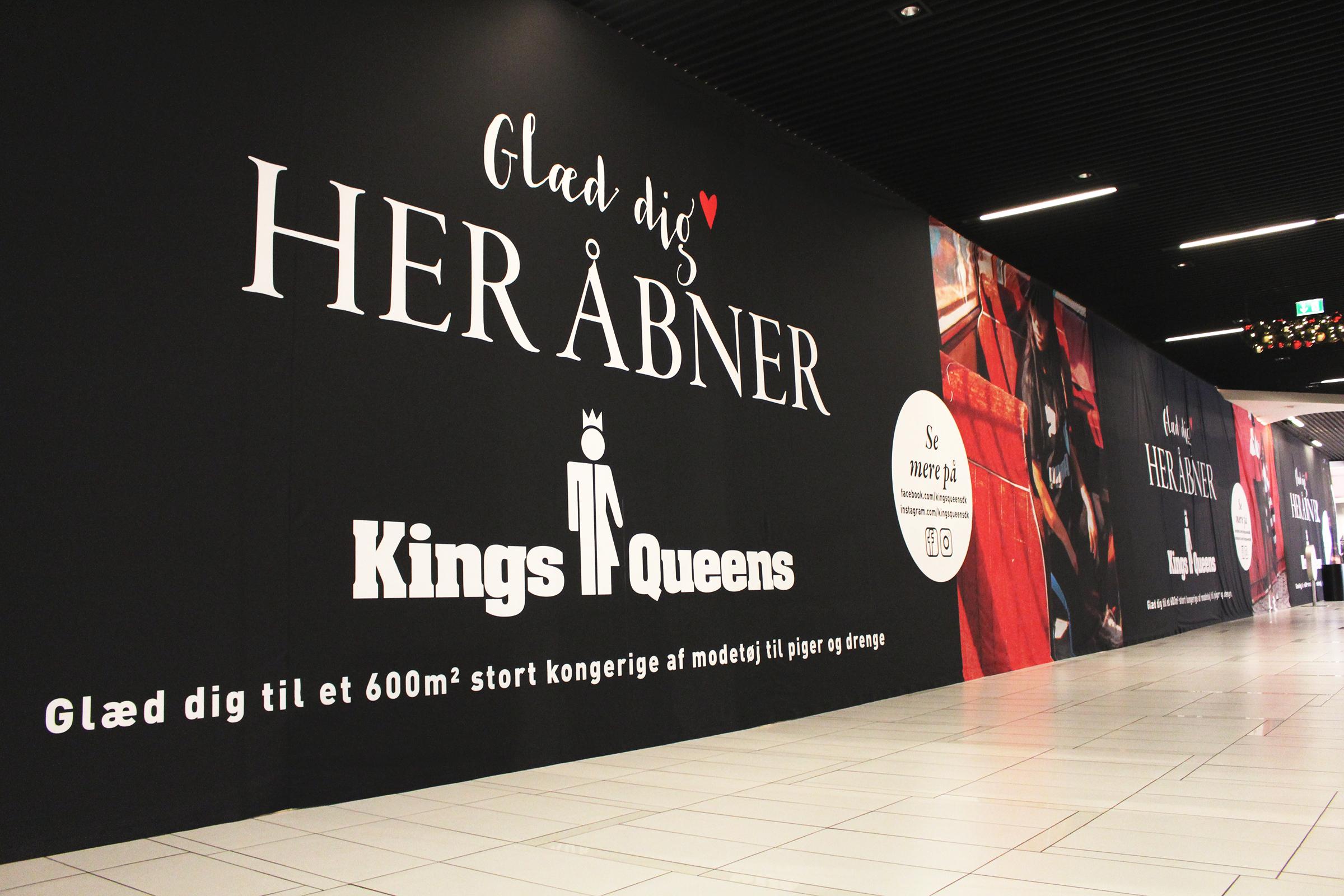 Butikken åbner på en af årets største shoppedage. PR-foto