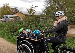 Cykelhjelme til daginstitution