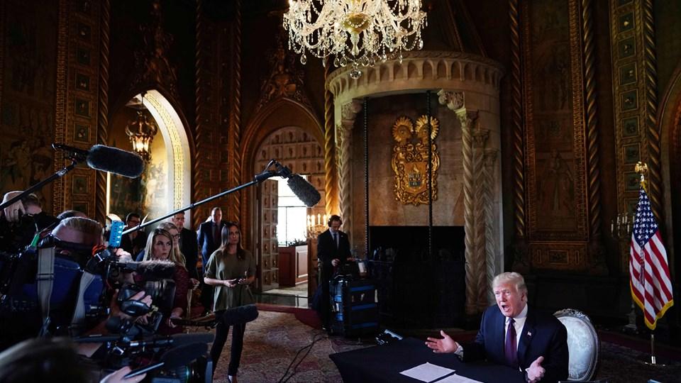 USA's præsident, Donald Trump, gav torsdag en thanksgiving-tale til de amerikanske tropper i Afghanistan over telefon. Efterfølgende antydede han overfor pressen, at han muligvis vil besøge det krigshærgede land.