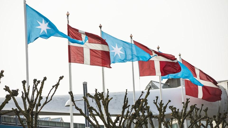 A.P. Møller-Mærsk holder årets generalforsamling d. 10. april 2018 i Bella Center. Men generalforsamling bar præg af, at udviklingen i selskabet og ikke mindst dets aktiekurs ikke er, hvad mange havde håbet. Aktierne faldt fire procent i 2017. Foto: Scanpix/Nikolai Linares