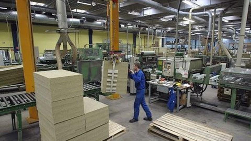 I løbet af efteråret kunne man på fabrikken i Ø. Doense knap følge med efterspørgslen.arkivfoto: jens morten