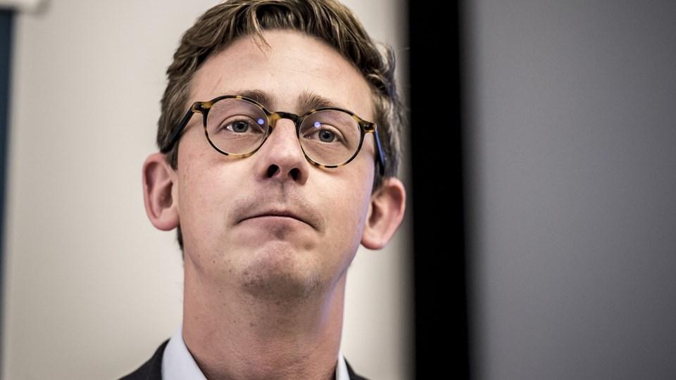 Vælger bitcoin-spekulanter at beholde deres fortjeneste i kryptovaluta-universet, er skattevæsnet magtesløst, når det gælder om inddragelse af skat, erkender skatteminister Karsten Lauritzen (V). Foto: Scanpix/Mads Claus Rasmussen/arkiv