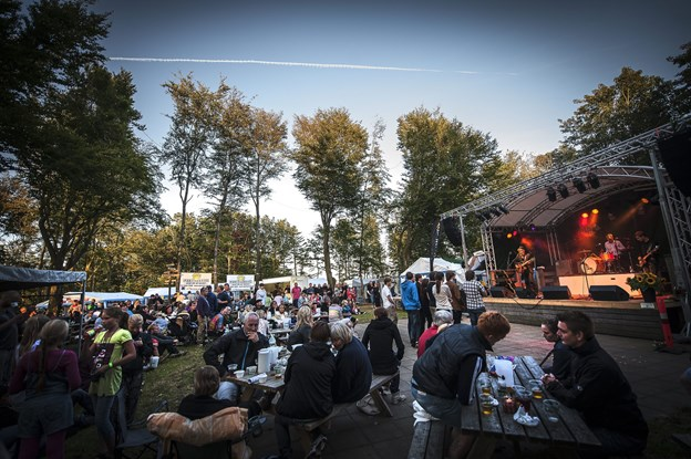 Det er i år 11. gang, at Bålhøj Festivalen afholdes.Arkivfoto: Kim Dahl Hansen
