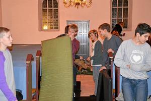 Konfirmander faldt i søvn i kirken