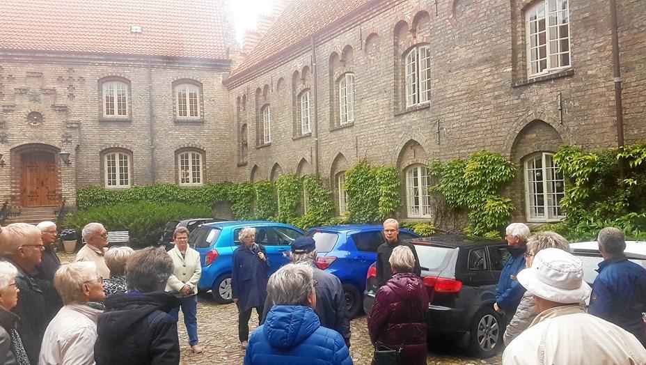 Spændende besøg på Aalborg Kloster