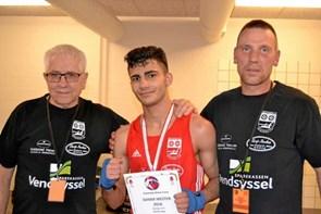 Ung bokser fra Brønderslev vandt DM-guld