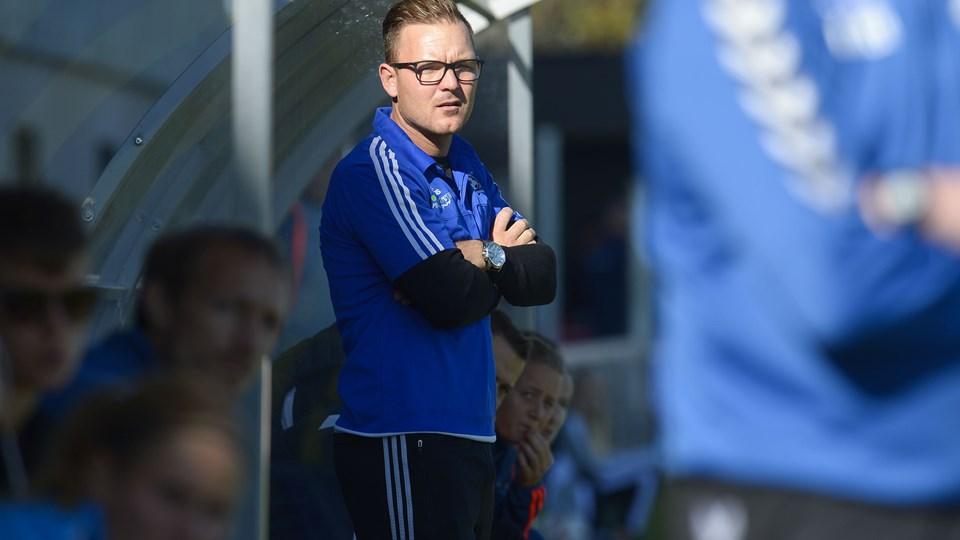 Brian Sørensen står i spidsen for FC Nordsjællands kvindesatsning, der allerede i indeværende sæson ser ud til at bære frugt.  Arkivfoto: Bente Poder