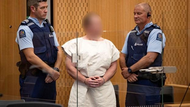 28-årig mand mistænkt for moskémassakre nægter sig skyldig