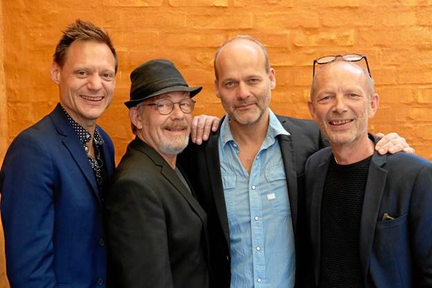 De musikere kan opleves i Jammerbugt Kulturcenter.Pressefoto