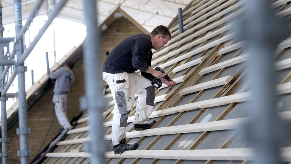 I de danske kommuner er der stor forskel i prisen på, hvor meget det koster at få behandlet en byggesag. Foto: Scanpix/Keld Navntoft