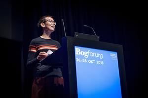 Taleskriver i Statsministeriet vinder debutantpris ved BogForum