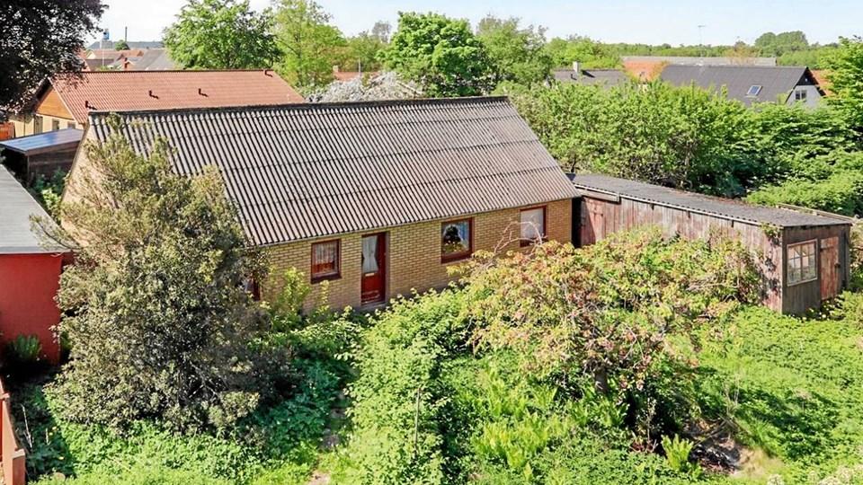 Her ses Nordjyllands billigste villa, som ligger på adressen Østerbro 10 i Bindslev. (Foto: Home.dk).