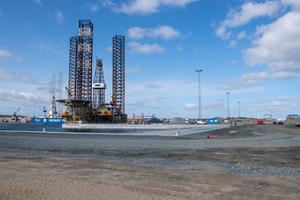 Frontløber: Frederikshavn er det første sted i verden, hvor borerigge kan ophugges på en miljørigtig måde