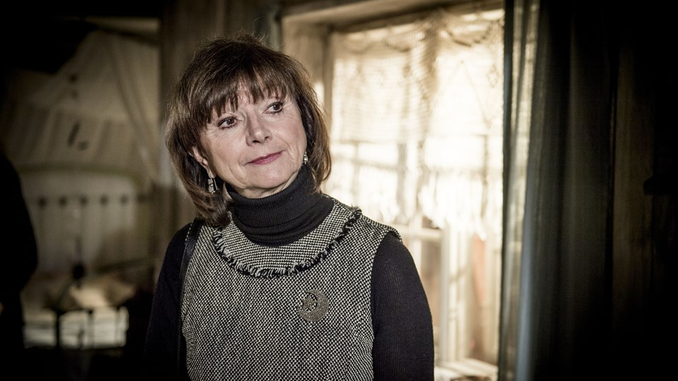 Sonja Oppenhagen ønsker, at verden bliver et roligere sted i 2018. Foto: /ritzau/Johansen Linda