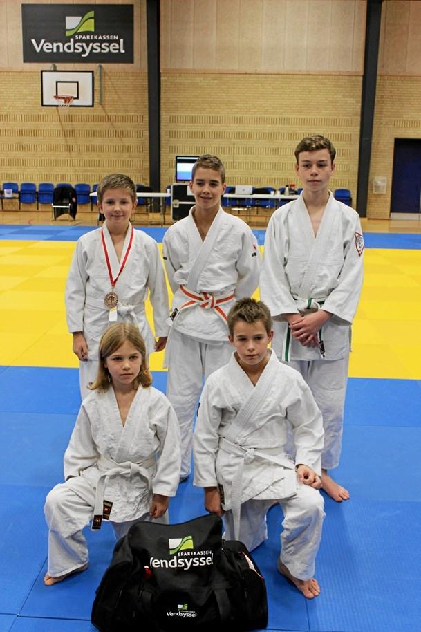 DM-medaljer til Jetsmark Judoklub