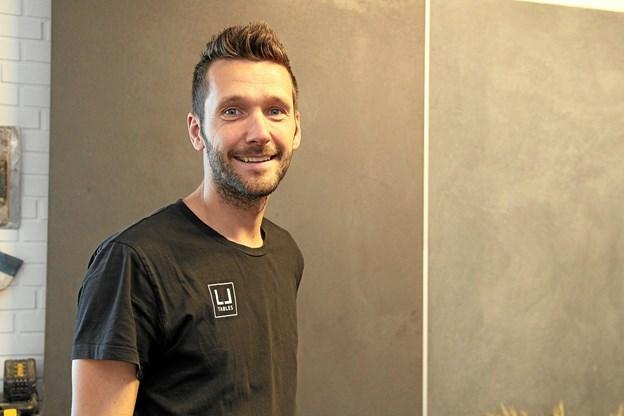 Efter tre års tilløb kunne Lars Jensen invitere til reception i egen virksomhed. Foto: Flemming Dahl Jensen