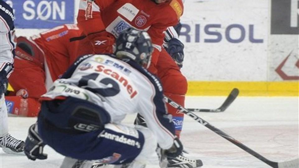 Lou Dickenson angiver lønnen som en vigtig grund til, at han foretrak italienske Valpellice frem for Frederikshavn White Hawks. Foto: Michael Bygballe