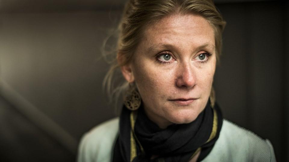 Forfatter, journalist og modtager af Cavling-prisen Puk Damsgård er blevet tildelt Statens Kunstfonds hædersydelse. Foto: Scanpix/Asger Ladefoged/arkiv