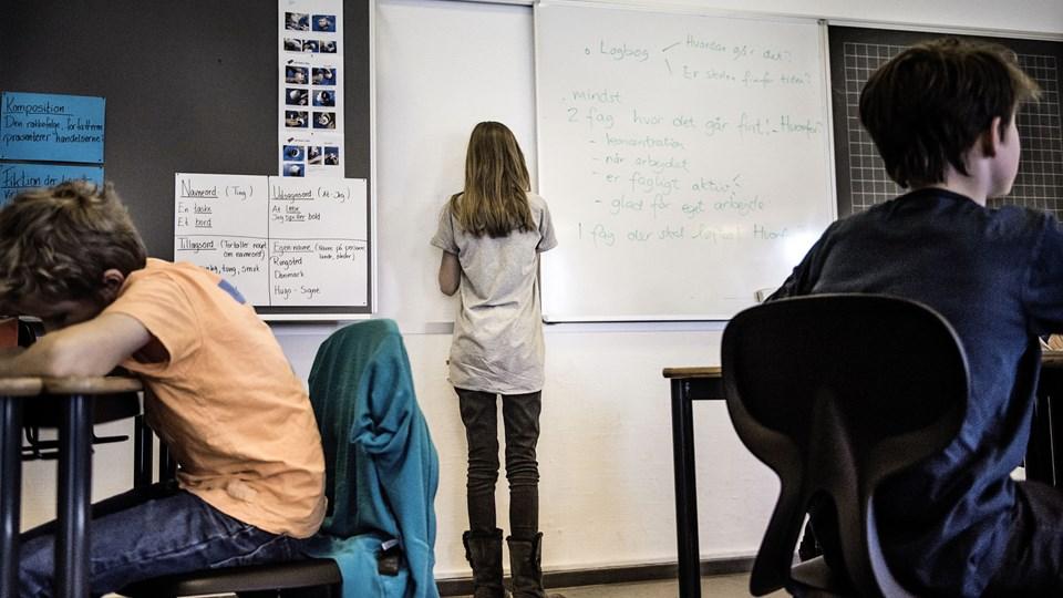 Det går den gale vej med inklusionen af børn med autisme i folkeskolen, viser ny inklusionsundersøgelse. Foto: Scanpix/Thomas Lekfeldt/arkiv