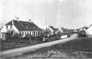 Søndervej- en gang var der langt mellem husene