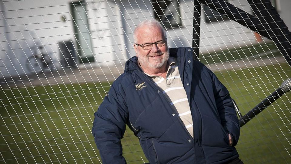 John Robert Larsen er fortsat formand for Dana Cup, men ledelsen af den store fodboldturnering er nu i stedet en opgave for Jette Andersen.