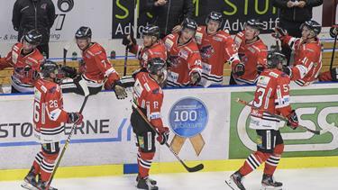 Svensker scorede i sin debut, og målmand brillerede, da Aalborg Pirates spillede sig i Final4