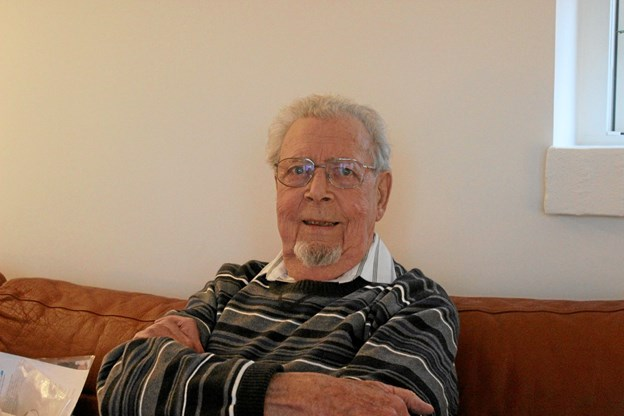 Otto Oskar Hold, 89 år og fra Hobro, blev lørdag 6. oktober bisat i Hobro Kirke. Privatfoto