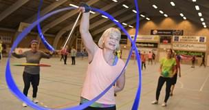 Gymnastik for alle: Kirsti rører krop og sjæl hos unge og gamle