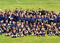 146 drenge og piger gæstede fodboldskole