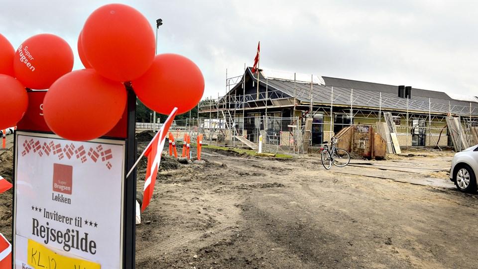 Rejsegilde på det nye velkomstcenter i Løkken ¬ Foto:Bente Poder